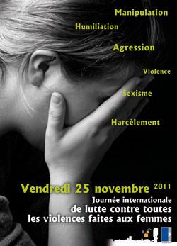 25 Novembre Journée Internationale Contre Violences