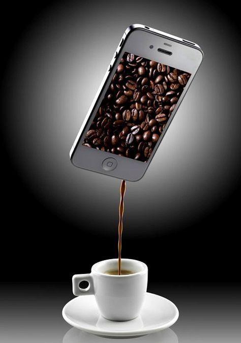 Ma nouvelle machine à café   ...  pour le fun !