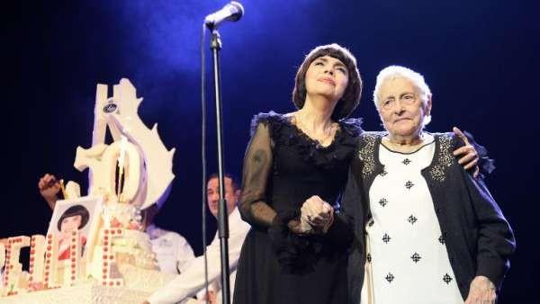 Mireille Mathieu fête son jubilé à l'Olympia  ...