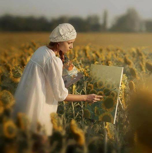 Peignez votre vie en couleurs ...