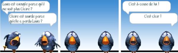 Un moment avec les birds si vous aimez for Blague de la chaise