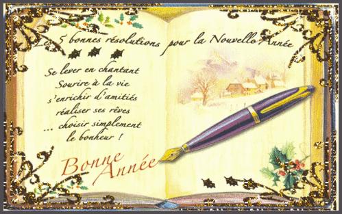 Les bonnes résolutions   ...   pour 2014  !