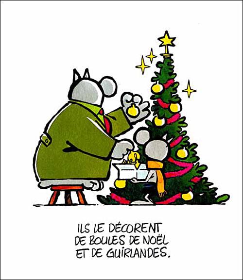 Noel Vu Par Philippe Geluck