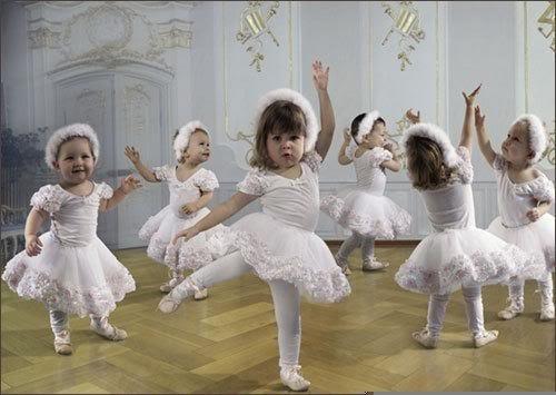 """Adorables petites Danseuses  ... trop  """"craquantes"""" !"""