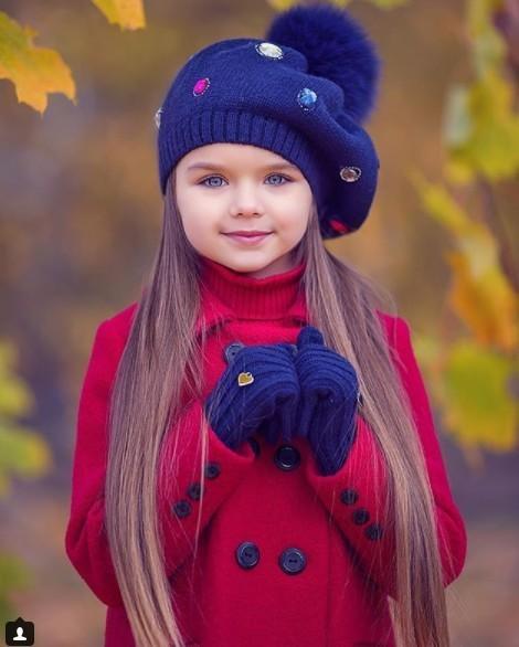 Anastasia  ...  « La plus belle petite fille du monde »  !