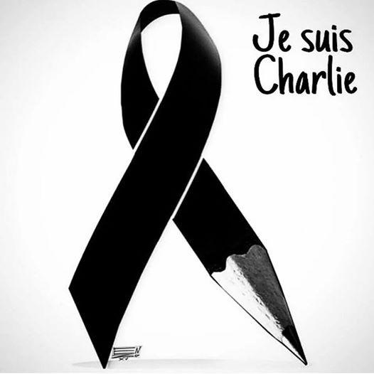 Hommage à CHARLIE HEBDO   ...   Drame du 7 janvier 2015  !