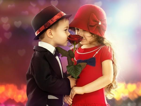 """Mon coup de coeur     ...   """"les petits amoureux""""  !"""