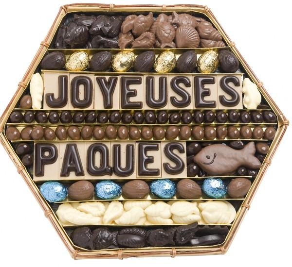 Quelques chocolats de Pâques ... pour vous !