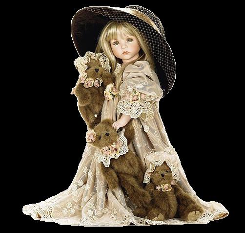 Une jolie poupée    ...   pour toi, petite fille sage !