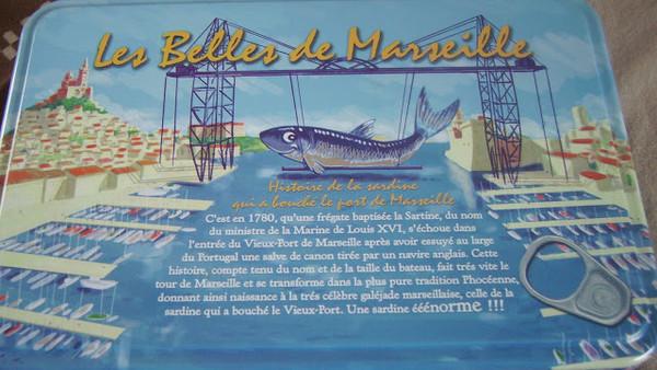 La sardine qui a bouch le port de marseille centerblog - Sardine port de marseille ...