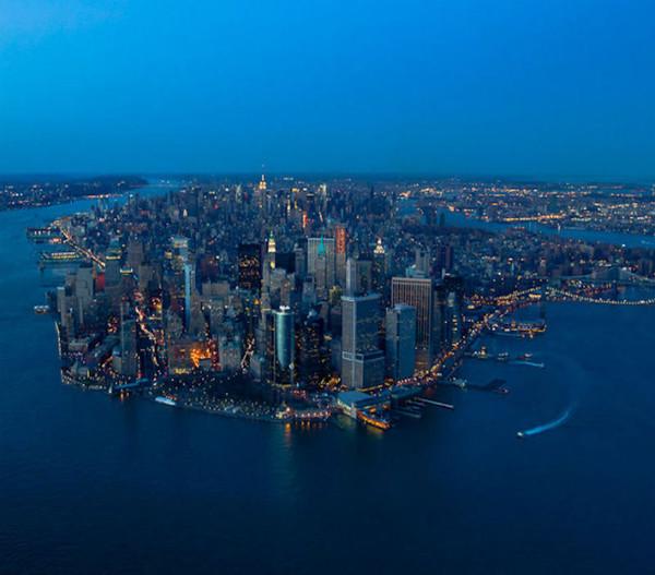 New York La Nuit Joli Fond Décran Pour Vous