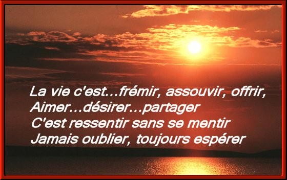 Le Monde Est Beau La Vie Est Belle