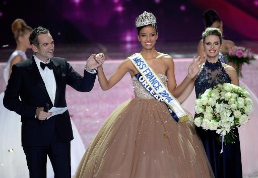 Flora Coquerel  ...  élue Miss France 2014 !