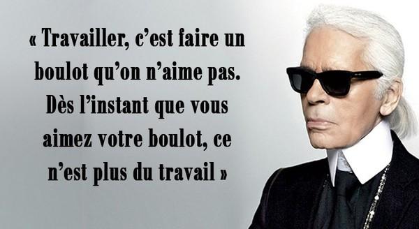 Citations de Karl Lagerfeld ...