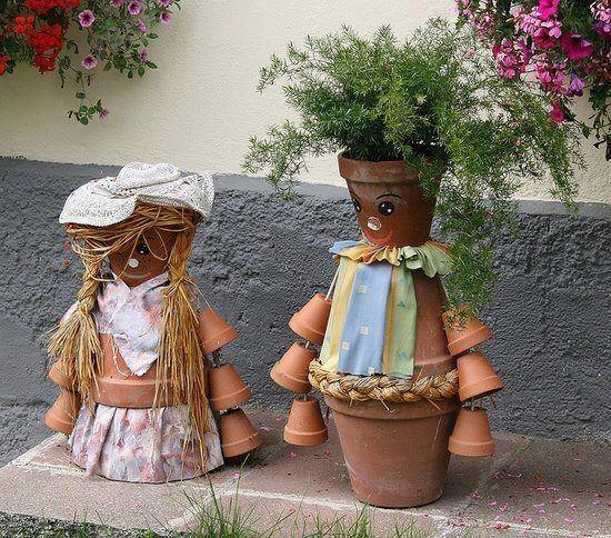 Petite visite d'un jardin   ...   quelque peu insolite !