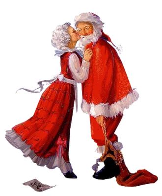 Conte de Noël ... Le Père Noël est amoureux !
