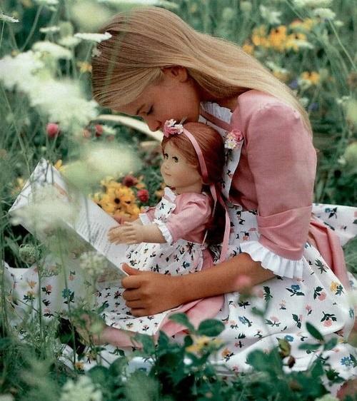 Une adorable petite fille  ...  comme je les aime !