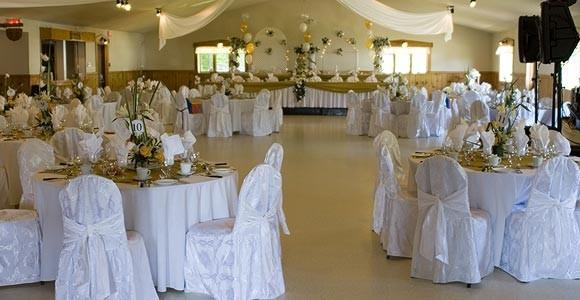 Préférence salle de réception décorée  pour le mariage ! UF01