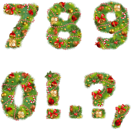 chiffre noel Chiffres de Noël  chiffre noel