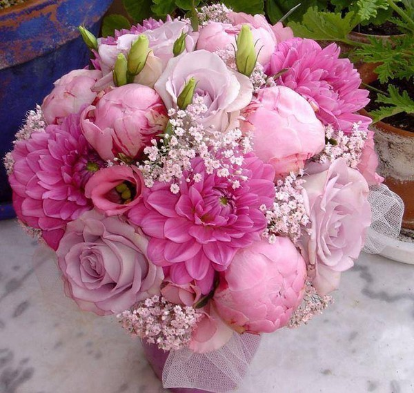 Un joli bouquet ... pour toi qui passes sur mon blog !