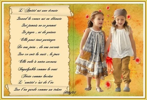 Poemes - Langage des fleurs amitie ...