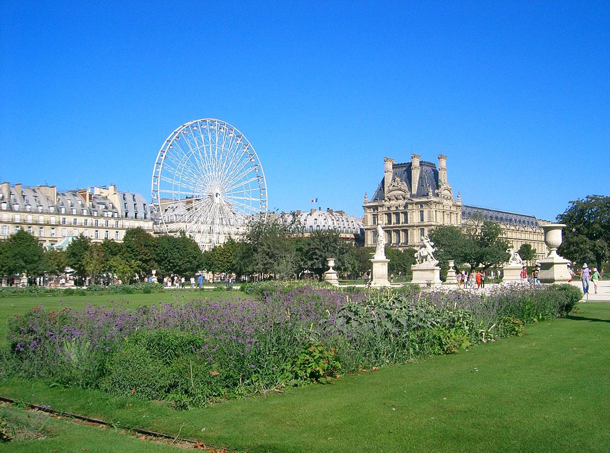 Paris et ses monuments page 3 for Au jardin des tuileries