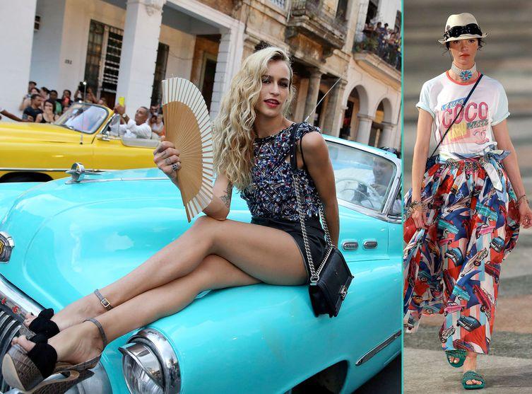 Karl Lagerfeld ... Sublime Défilé Chanel à Cuba