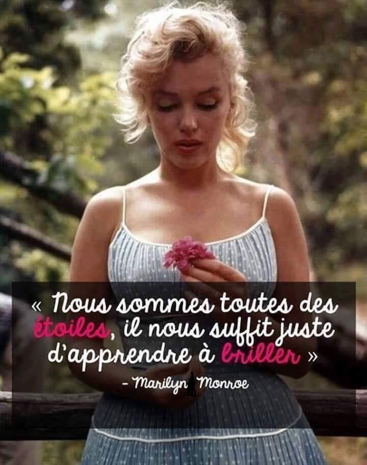 Citation De Marilyn Monroe