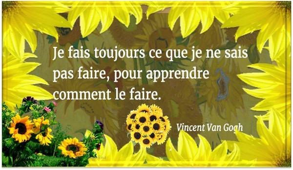 Citation De Vincent Van Gogh