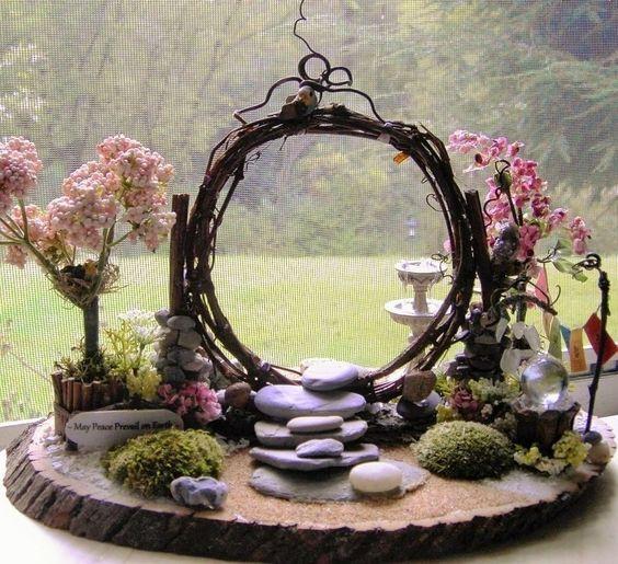 Jardins Miniatures quelques jolis jardins miniatures